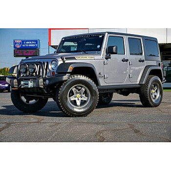 2013 Jeep Wrangler 4WD Unlimited Rubicon for sale 101210278
