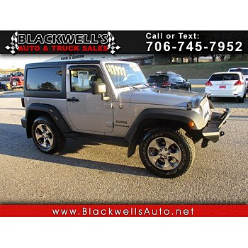 2013 Jeep Wrangler 4WD Sport for sale 101260853