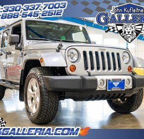 2013 Jeep Wrangler 4WD Unlimited Sahara for sale 101285741