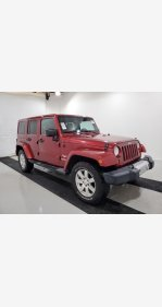 2013 Jeep Wrangler 4WD Unlimited Sahara for sale 101287660