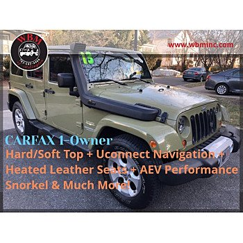 2013 Jeep Wrangler 4WD Unlimited Sahara for sale 101448137