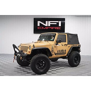 2013 Jeep Wrangler for sale 101596256