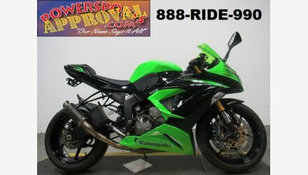 2013 Kawasaki Ninja ZX-6R for sale 200705014