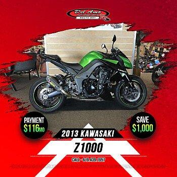 2013 Kawasaki Z1000 for sale 200713506