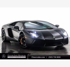 2013 Lamborghini Aventador for sale 101493759