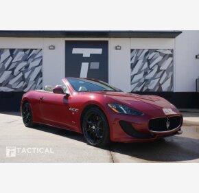 2013 Maserati GranTurismo Sport Convertible for sale 101104744