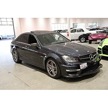 2013 Mercedes-Benz C63 AMG for sale 101436207