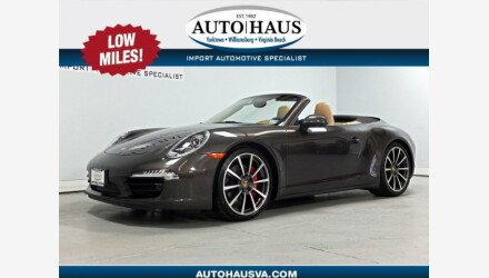 2013 Porsche 911 Carrera S Cabriolet for sale 101224729