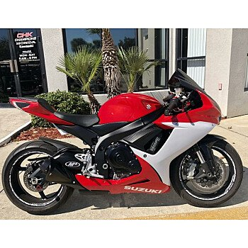 2013 Suzuki GSX-R600 for sale 200644238
