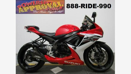 2013 Suzuki GSX-R600 for sale 200627347
