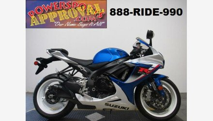 2013 Suzuki GSX-R600 for sale 200631003