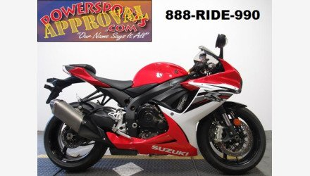 2013 Suzuki GSX-R600 for sale 200638179