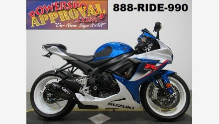 2013 Suzuki GSX-R600 for sale 200642860