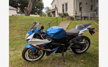 2013 Suzuki GSX-R600 for sale 200788337