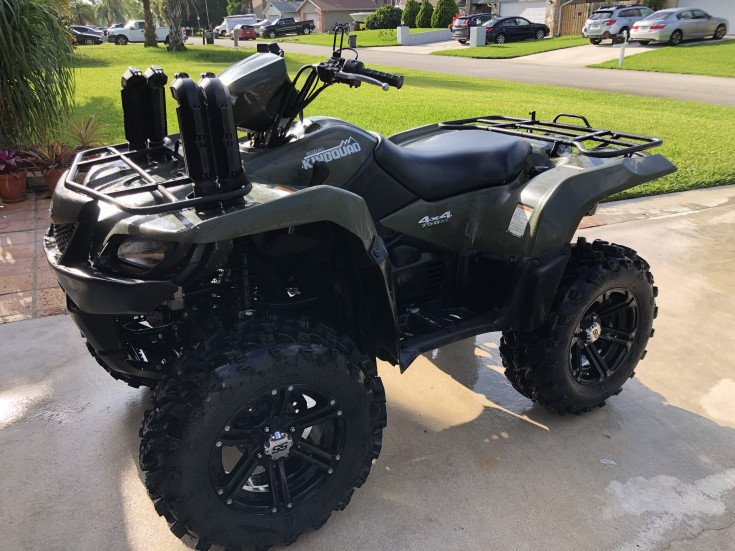 2013 Suzuki KingQuad 750 AXI Power Steering for sale near