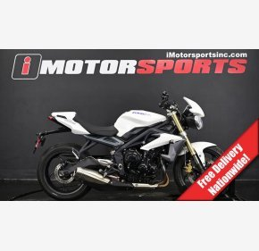 2013 Triumph Street Triple for sale 200804754