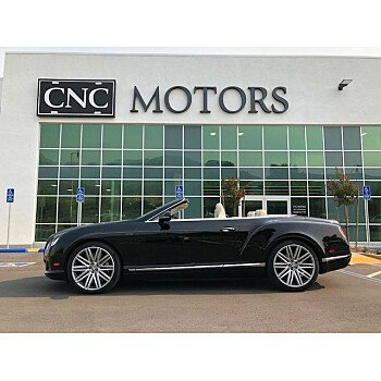 2014 Bentley Continental GTC Speed Convertible for sale 101154820