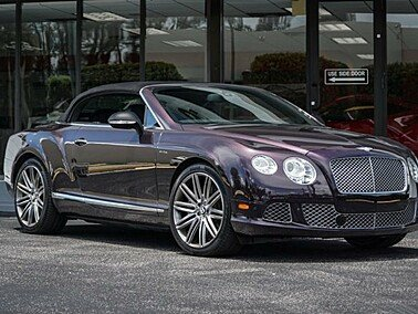 2014 Bentley Continental GTC Speed Convertible for sale 101292925