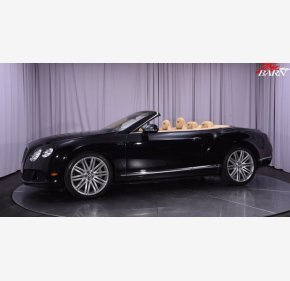 2014 Bentley Continental GTC Speed Convertible for sale 101358219