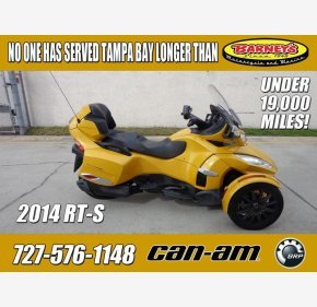 2014 Can-Am Spyder RT-S for sale 200703742