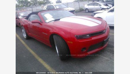 2014 Chevrolet Camaro LT Convertible for sale 101015137