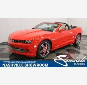 2014 Chevrolet Camaro LT Convertible for sale 101130159