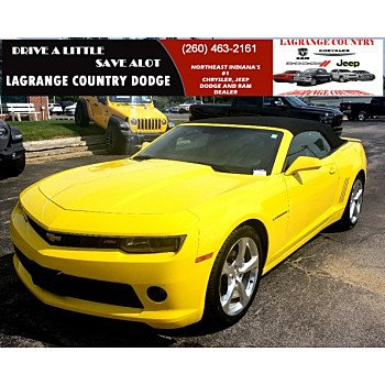 2014 Chevrolet Camaro LT Convertible for sale 101175016