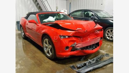 2014 Chevrolet Camaro LT Convertible for sale 101188120