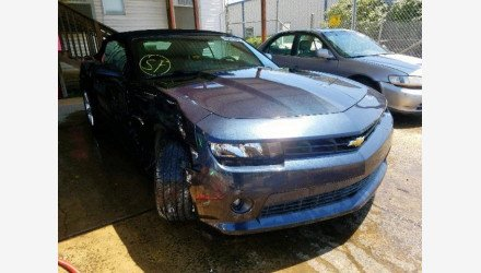 2014 Chevrolet Camaro LT Convertible for sale 101193108