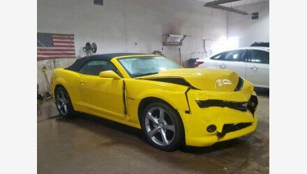 2014 Chevrolet Camaro LT Convertible for sale 101193164