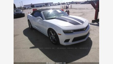 2014 Chevrolet Camaro LT Convertible for sale 101220783