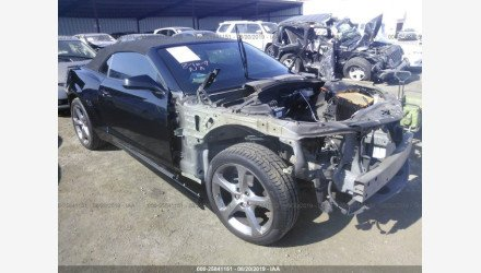 2014 Chevrolet Camaro SS Convertible for sale 101222275