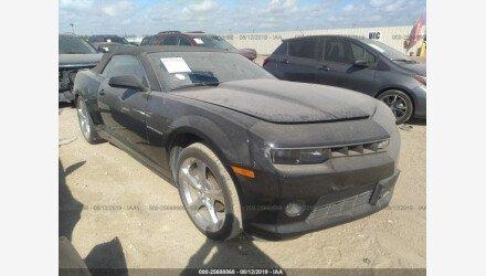 2014 Chevrolet Camaro LT Convertible for sale 101233400