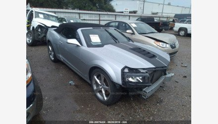 2014 Chevrolet Camaro SS Convertible for sale 101246603