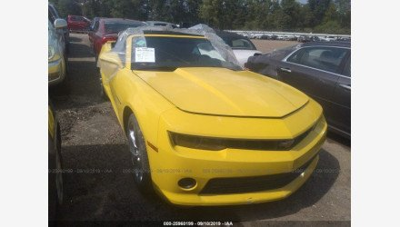 2014 Chevrolet Camaro LT Convertible for sale 101279309
