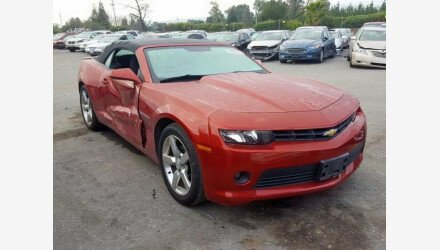 2014 Chevrolet Camaro LT Convertible for sale 101281402