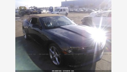 2014 Chevrolet Camaro LT Convertible for sale 101297488
