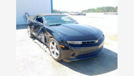 2014 Chevrolet Camaro LT Convertible for sale 101331326