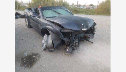 2014 Chevrolet Camaro LT Convertible for sale 101467961