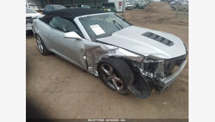 2014 Chevrolet Camaro SS Convertible for sale 101488460