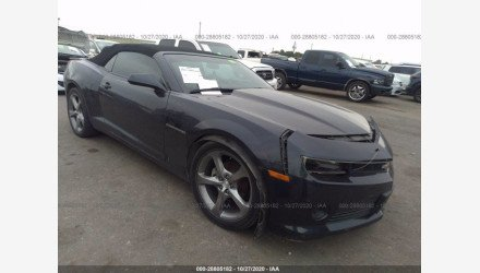 2014 Chevrolet Camaro LT Convertible for sale 101493596