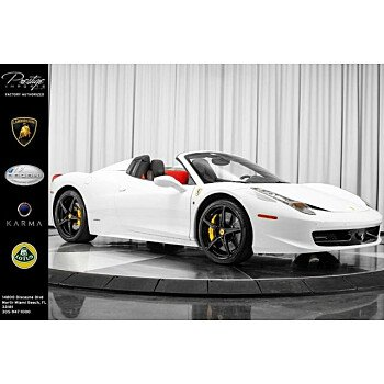 2014 Ferrari 458 Italia Spider for sale 101077272