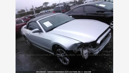 2014 Ford Mustang Convertible for sale 101127077