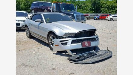 2014 Ford Mustang Convertible for sale 101190710