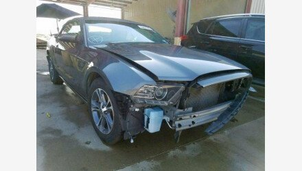 2014 Ford Mustang Convertible for sale 101191378