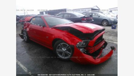 2014 Ford Mustang Convertible for sale 101192816