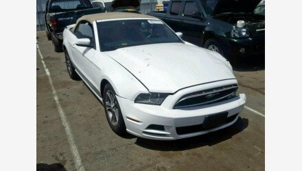 2014 Ford Mustang Convertible for sale 101193079