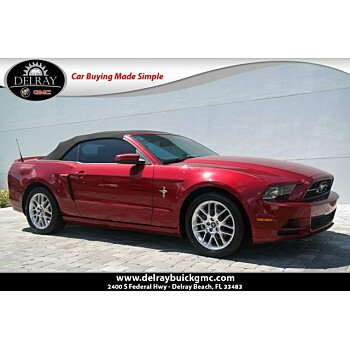 2014 Ford Mustang Convertible for sale 101212190