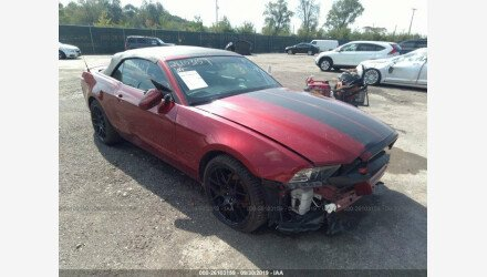 2014 Ford Mustang Convertible for sale 101228518
