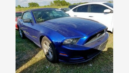 2014 Ford Mustang Convertible for sale 101239830